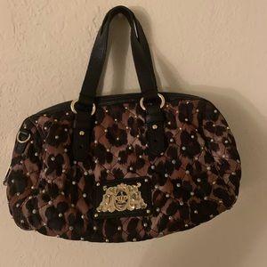 Vintage JUICY couture leopard purse